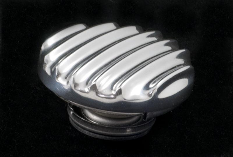 """Kühlerdeckel """"ALL FINNED"""" POLIERT Aluminium OTB Gear 6201"""