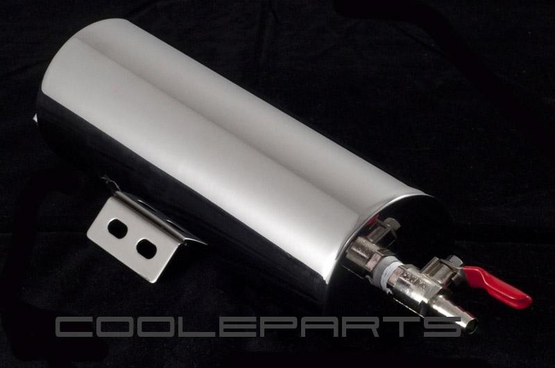 Kühlerausgleichsbehälter Kühler Ausgleichsbehälter 7,5cm x 20cm V2A