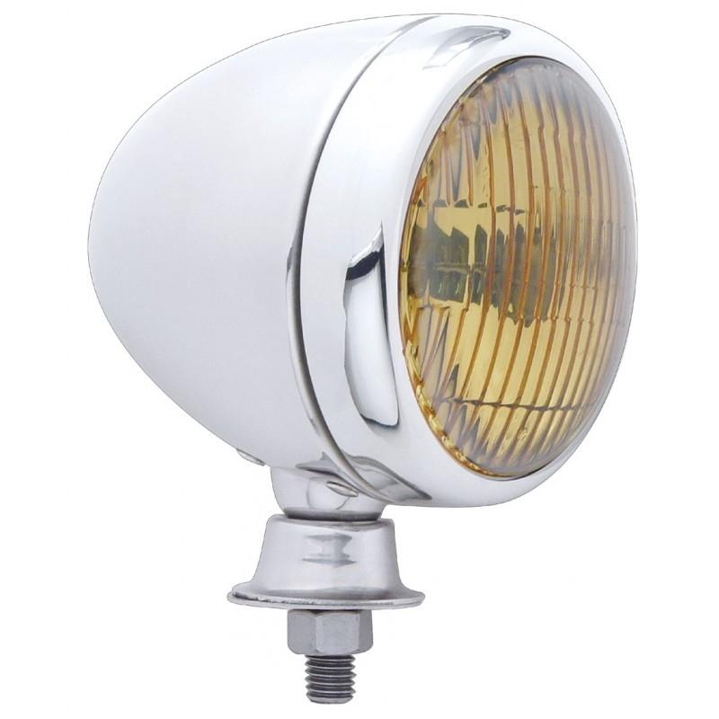 Nebelscheinwerfer - Chrome - orange 30649