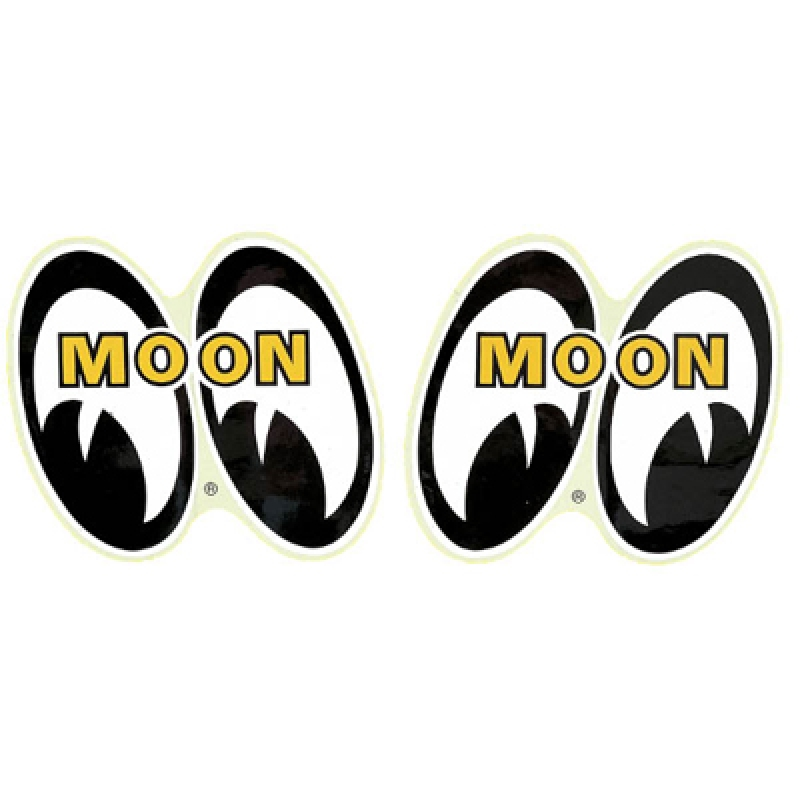 "Pair of MOON 4 Eyes Sticker 6"" MOONEYES DM051 Aufkleber"