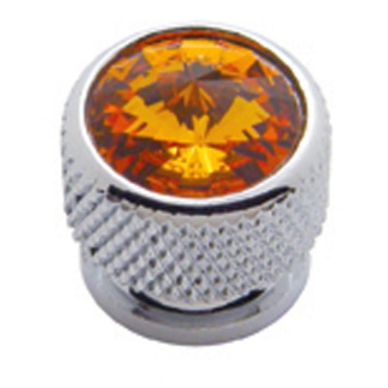 Chrome Bolt Head - Diamond Orange
