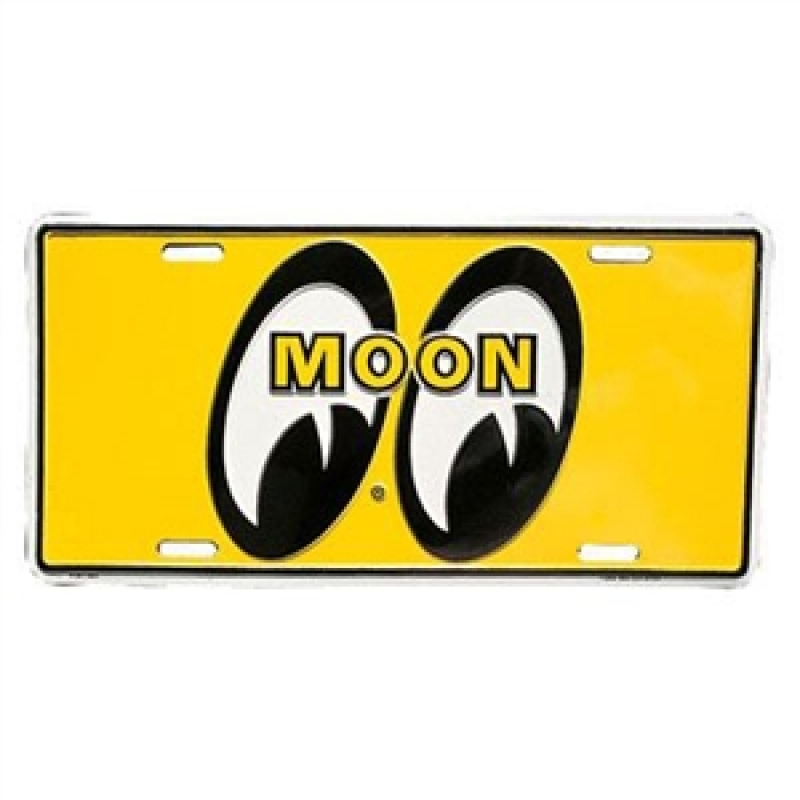 License Plate MOON
