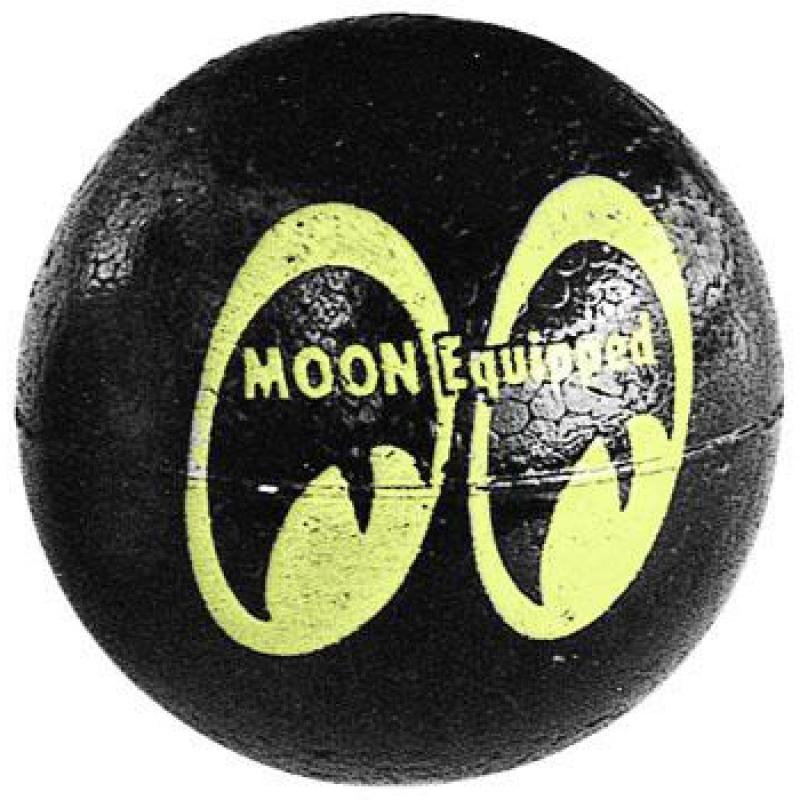 MOON Equipped Antennen Ball Schwarz MOONEYES MG015BK