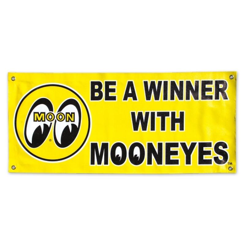 "MOON Banner ""BE A WINNER"" GELB MG644YE"