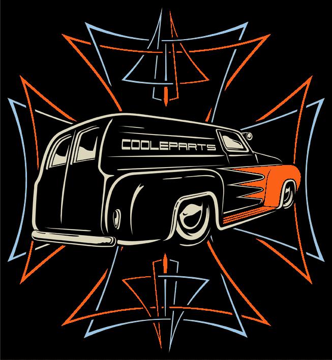 CooleParts - Hot Rod - Custom Car - Parts - Logo