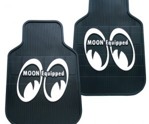 MOON Equipped Floor Mats Gummi Fussmatten MP080BK