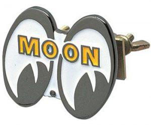 EMBLEM EYE SHAPED FOR GRILLE MOON MOONEYES MG035