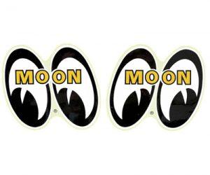 Pair of MOON 4 Eyes Sticker 6