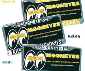 Nummernschild Rahmen MoonEyes