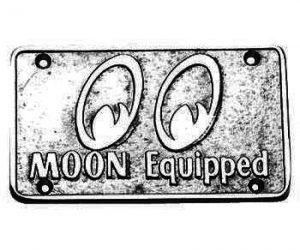 PLAQUE MOON CAR CLUB MOONEYES MP007