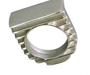 1 fach Instrumenten halter Alu poliert OTB Gear 6122 gauge panel